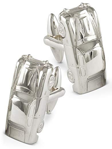 ZAUNICK Vintage Car Cufflinks Sterling Silver